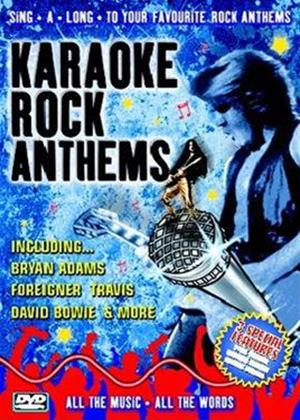 Rent Karaoke: Rock Anthems Online DVD Rental