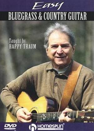 Rent Easy Bluegrass and Country Guitar Online DVD Rental