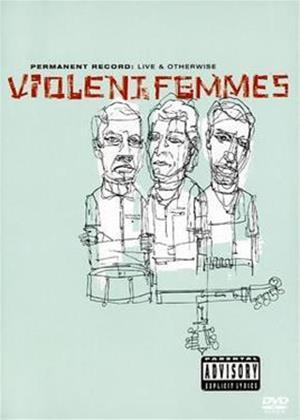 Rent Violent Femmes: Live and Otherwise Online DVD Rental