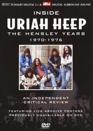 Rent Uriah Heep: Inside: The Hensley Years: 1970 to 1976 Online DVD Rental