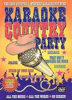 Rent Karaoke Country Party Online DVD Rental