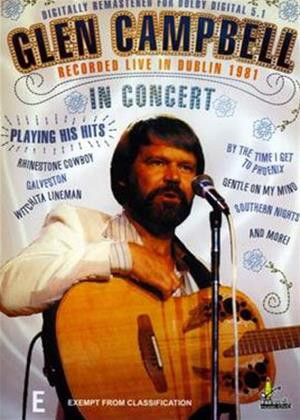 Rent Glen Campbell: In Concert: Dublin Online DVD Rental