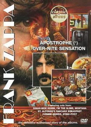 Rent Frank Zappa: Classic Albums: Apostrophe and Over-Nite Sensation Online DVD Rental