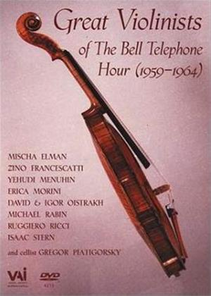 Rent Great Violinists of the Bell Telephone Hour 1959-64 Online DVD Rental