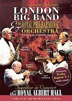 Rent Laurie Johnson's Big Band at the Royal Albert Hall Online DVD Rental