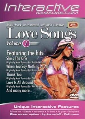 Rent Interactive Karaoke: Love Songs Online DVD Rental
