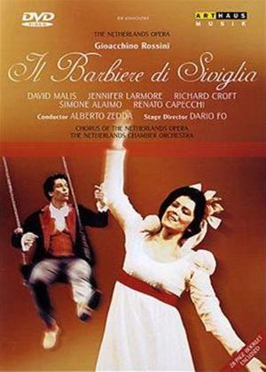 Rent Rossini: Il Barbiere Di Siviglia: The Netherlands Opera Online DVD Rental
