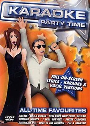 Rent Karaoke Party Time: All Time Favourites Online DVD Rental