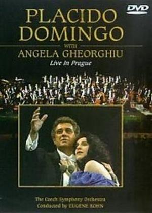 Rent Placido Domingo with Angela Gheorghiu: Live in Prague Online DVD Rental