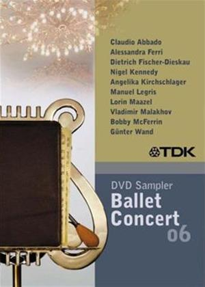 Rent TDK DVD Ballet and Concert Sampler 2006 Online DVD Rental