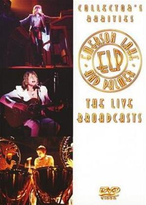 Rent Emerson, Lake and Palmer: The Live Broadcasts Online DVD Rental