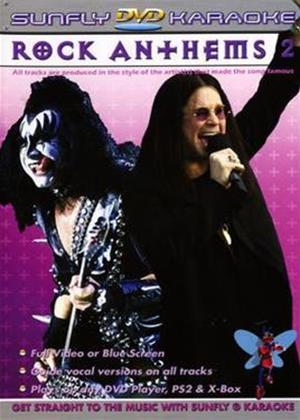 Rent Sunfly Karaoke: Rock Anthems: Vol.2 Online DVD Rental