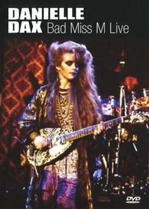 Rent Danielle Dax: Bad Miss M: Live Online DVD Rental