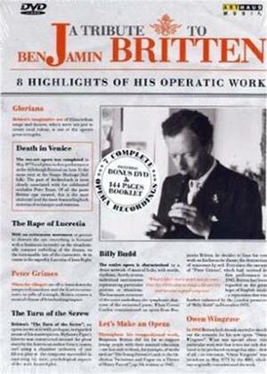 Rent A Tribute to Benjamin Britten Online DVD Rental