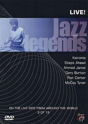 Rent Jazz Legends: Live: Vol.3 Online DVD Rental