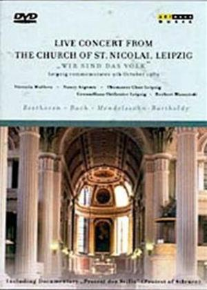 Rent Concert from the Church of St Nicolai, Leipzig Online DVD Rental