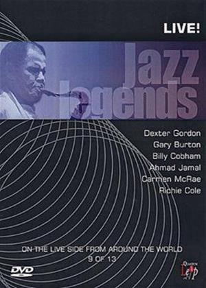 Rent Jazz Legends: Live: Vol.9 Online DVD Rental