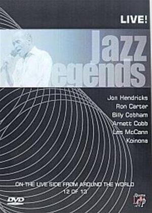 Rent Jazz Legends: Live: Vol.12 Online DVD Rental