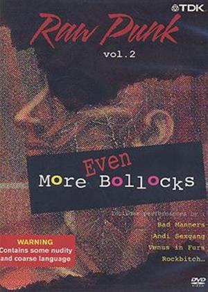 Rent Raw Punk: Vol.2: Even More B*ll*cks Online DVD Rental