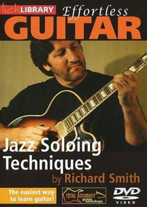 Rent Effortless Guitar: Jazz Soloing Techniques Online DVD Rental