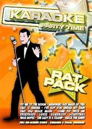 Rent Karaoke Party Time: Rat Pack Online DVD Rental