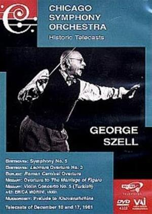 Rent Chicago Symphony Orchestra: Historic Telecasts: George Szell Online DVD Rental