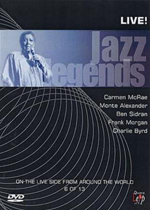 Rent Jazz Legends: Live: Vol.6 Online DVD Rental