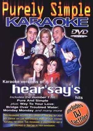 Rent Purely Simple Karaoke Online DVD Rental