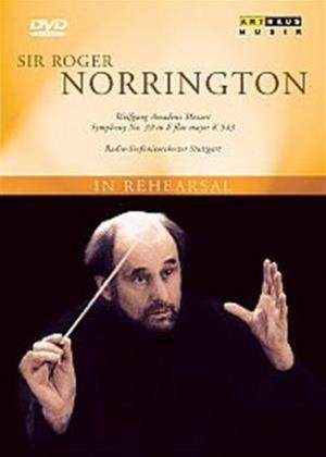 Rent Sir Roger Norrington in Rehearsal Online DVD Rental