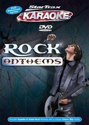Rent Startrax Karaoke: Rock Anthems Online DVD Rental