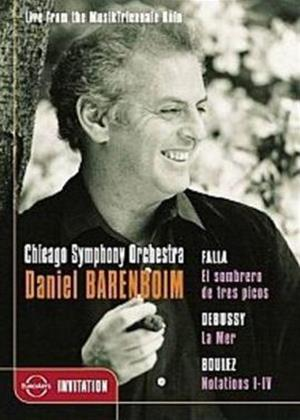 Rent Chicago Symphony Orchestra: Daniel Barenboim Online DVD Rental