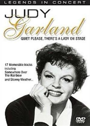 Rent Judy Garland: Quiet Please, There's a Lady on Stage Online DVD Rental