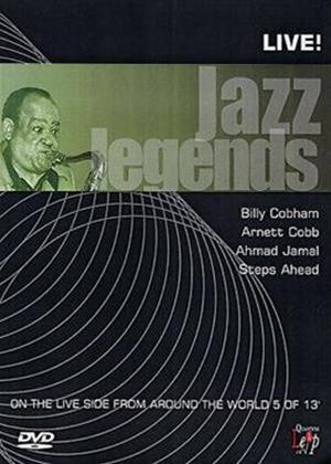 Rent Jazz Legends: Live: Vol.5 Online DVD Rental