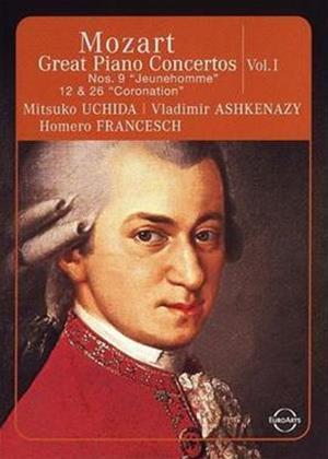Rent Mozart: Great Piano Concertos: Vol.1 Online DVD Rental
