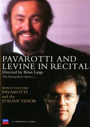 Rent Luciano Pavarotti and James Levine in Recital Online DVD Rental