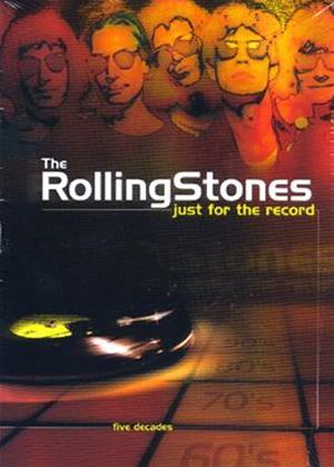 Rent The Rolling Stones: Just for the Record: Vol.5: 2000 Plus Online DVD Rental