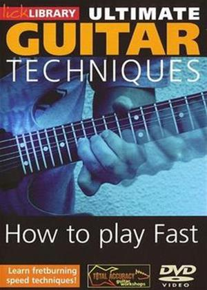 Rent Ultimate Guitar Techniques: How to Play Fast Online DVD Rental