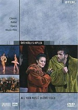 Rent TDK DVD Sampler 2003 Online DVD Rental
