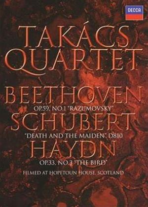Rent Takacs Quartet: Shubert: Death of a Maiden Online DVD Rental