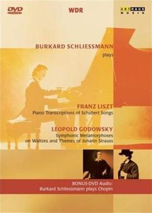 Rent Liszt and Godowsky: Burkhard Schliessmann Plays Online DVD Rental