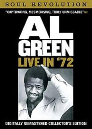 Rent Al Green: Live in '72 Online DVD Rental