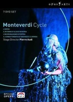Rent Claudio Monteverdi: Pierre Audi's Monteverdi Cycle Online DVD Rental