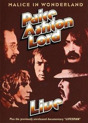 Rent Paice Ashton Lord: Live Online DVD Rental