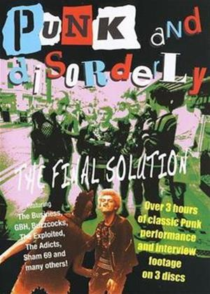 Rent Punk and Disorderly: The Final Solution Online DVD Rental