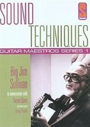 Rent Sound Techniques: Guitar Maestros Series 1: Big Jim Sullivan Online DVD Rental