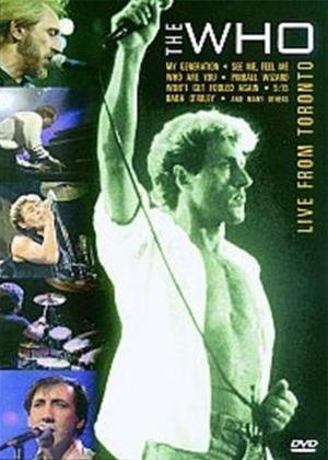 Rent The Who: Live from Toronto Online DVD Rental