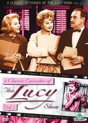 Rent The Lucy Show: 4 Classic Episodes: Vol.1 Online DVD Rental