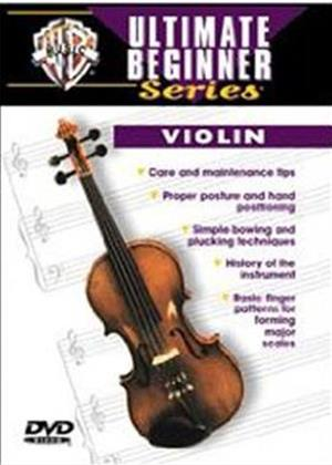 Rent Ultimate Beginner Series: Violin Online DVD Rental