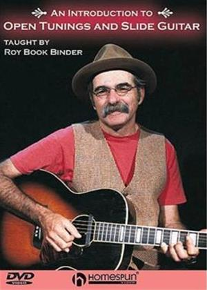 Rent Introduction to Open Tunings and Slide Guitar Online DVD Rental
