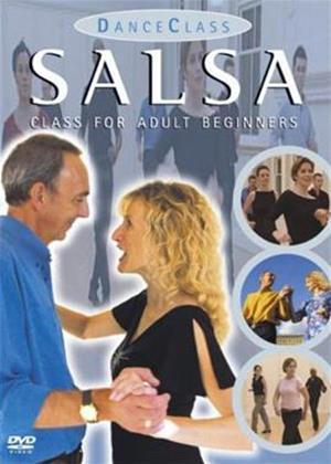 Rent Salsa Dance for Adult Beginners Online DVD Rental